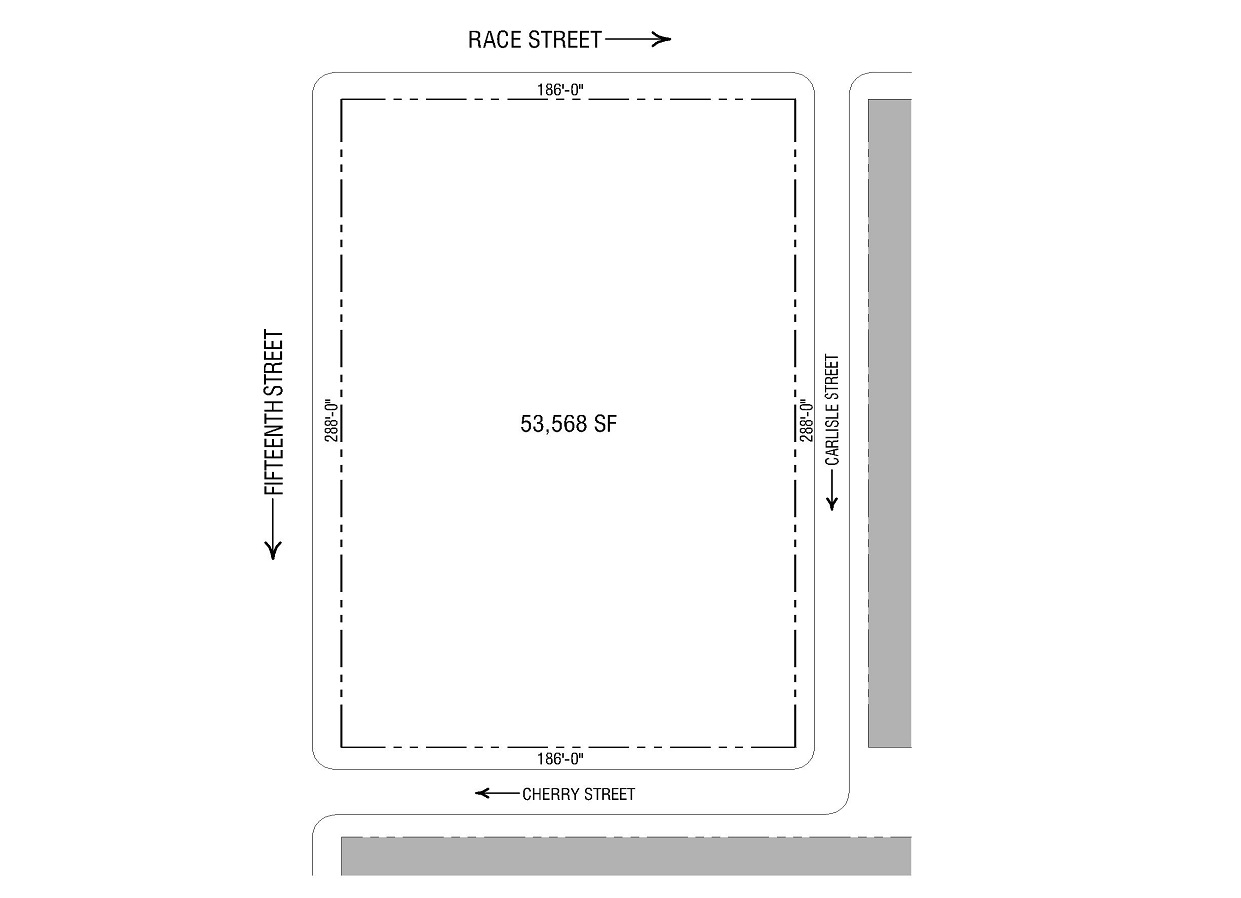 15th & Cherry plot plan