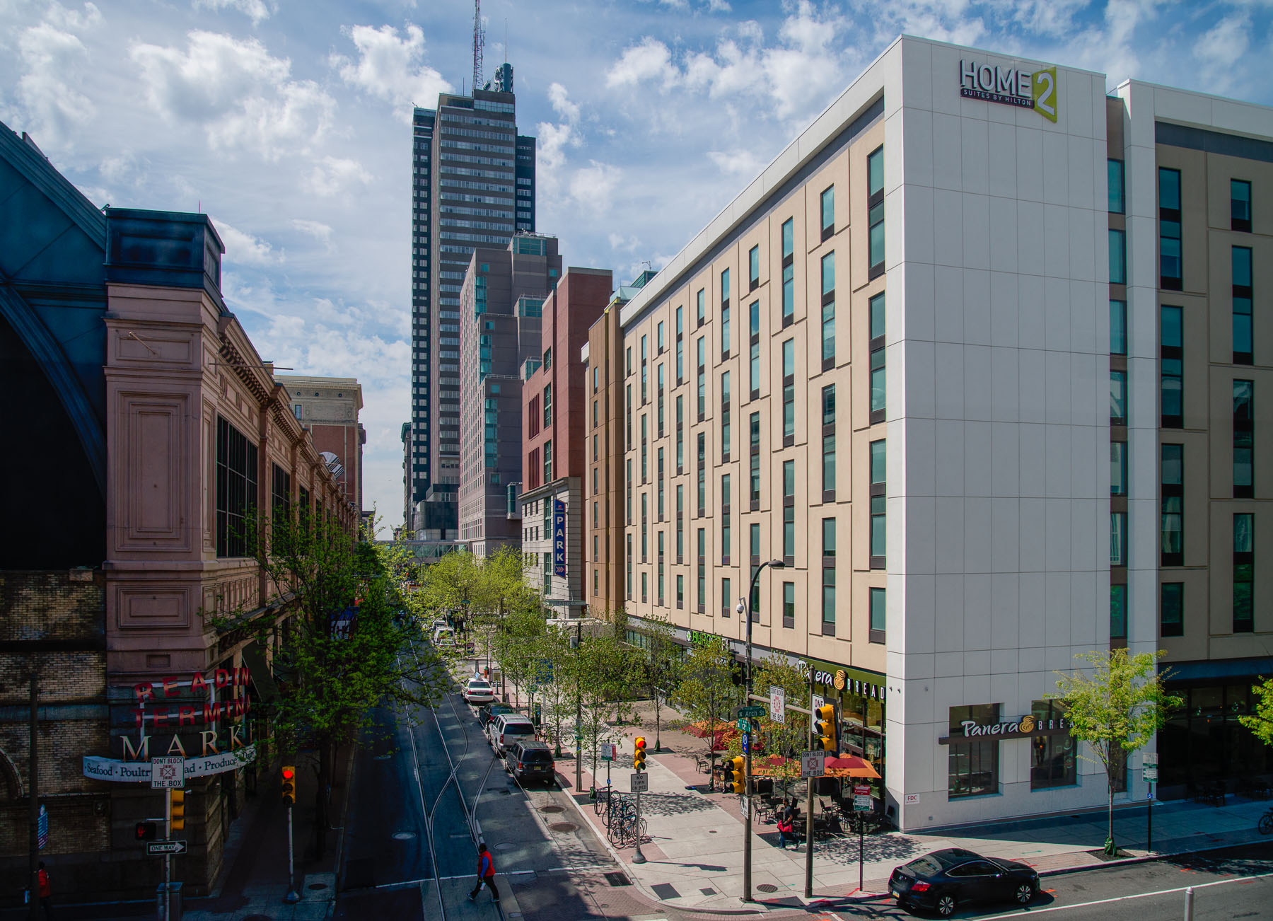 12th and Arch Home2 Hotel