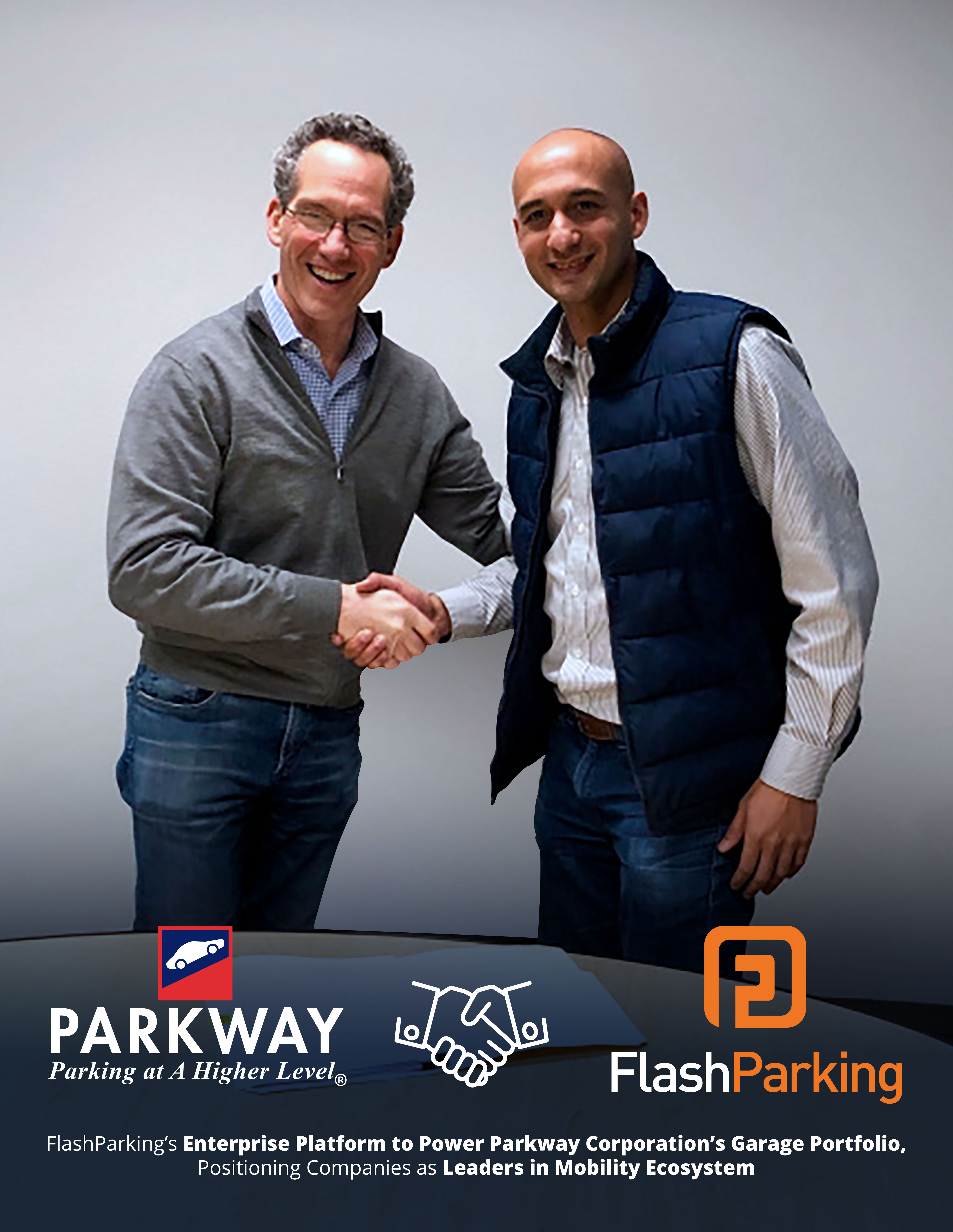 Parkway CEO Rob Zuritsky & FlashParking CEO Juan Rodriguez