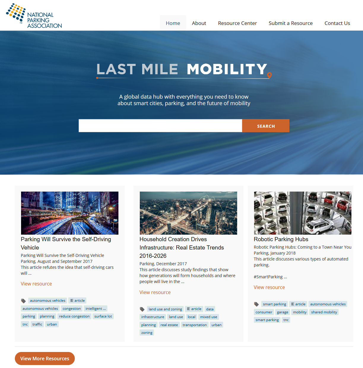 NPA Last Mile Website
